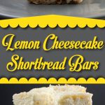 Lemon Cheesecake Shortbread Bars - These bars are delightfully tangy, sweet, cool, creamy, and oh so divine! A lemon lover's dream treat. #lemon #dessert #recipe #easy #summer