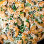 Fast & Easy Shrimp Piccata - It's on the table in under 30 minutes. Shrimp sauteed in a lemon-butter-caper sauce. It's fresh, bursting with flavor and comes together fast.