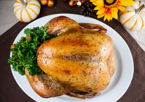 Simple Succulent Roast Turkey (Dry Brine) - You will never use another method again! Dry brining will give you a phenomenally moist, tender, deep flavor filled turkey.