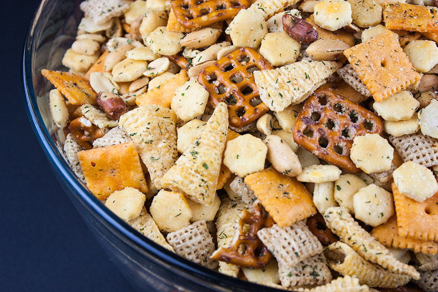 Ranch Party Mix - The quintessential party favorite! Warning: Highly Addictive