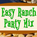 Warning: Highly Addictive! The quintessential Ranch Party Mix party favorite! #hiddenvalley #snackmix