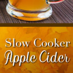 Slow Cooker Apple Cider - Oh, so fall fabulous! Fresh apples, orange, cinnamon, nutmeg, cloves, and brown sugar make this cider irresistible. #applecider #recipe #slowcooker #crockpot #fall
