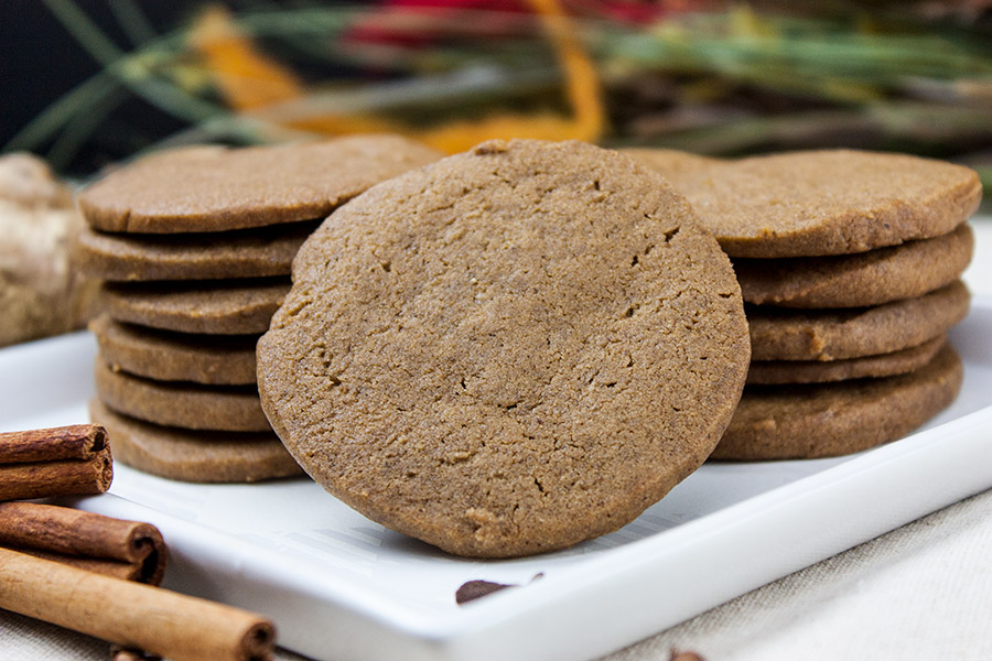 Crispy Gingersnap Cookies Don T Sweat The Recipe