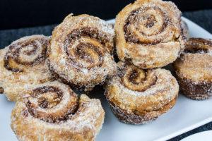 puff pastry morning buns orange cinnamon easy recipe
