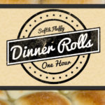 Soft and Fluffy One-Hour Dinner Rolls - Easy, fast, amazingly soft, fluffy, light and flavorful! Warm, buttery rolls on the table in 60 minutes. #bread #rolls #onehour #soft #fluffy #light