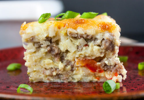 sausage hash browns eggs cheese breakfast casserole easy