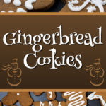 Gingerbread Cookies - The perfect gingerbread cookie, soft texture, holds shape while baking and a delightful ginger flavor. A holiday cookie MUST! #gingerbread #cookies #holidays #christmas