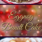 Super moist, buttery, eggnog infused bundt cake drizzled with a sweet eggnog glaze is a must this Christmas! An easy recipe to whip up when you need a dessert.#eggnog #cake