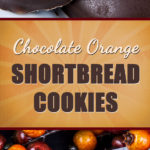 Chocolate Orange Shortbread Cookies - Classic holiday flavor. Tender, buttery, orange-flavored shortbread dipped in creamy, decadent dark chocolate. #chocolate #orange #cookies #shortbread #christmas