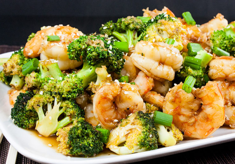 Shrimp and Broccoli Stir Fry - Ready in less than 30 minutes. Healthier and way tastier than takeout. Simple, satisfying and down right tasty!
