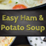 An easy thick, creamy, warm, and hearty weeknight meal. A delicious recipe that will be a new family favorite. #potato #soup