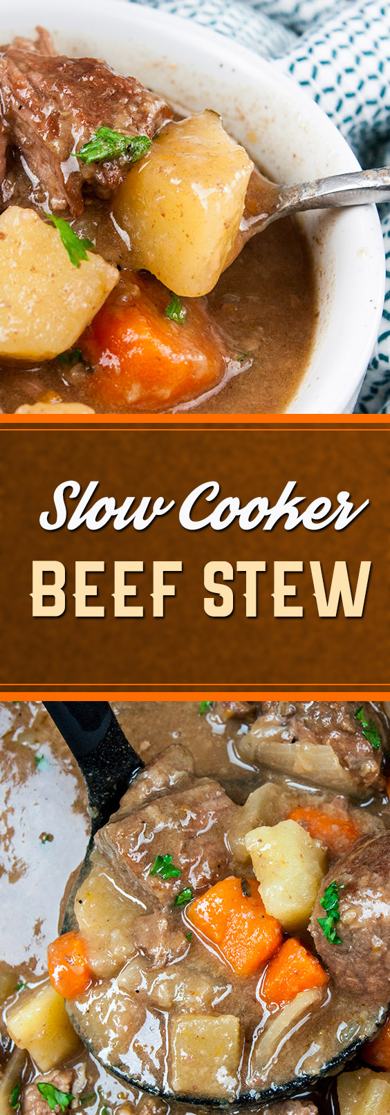 Thick, creamy, flavorful comfort food from your slow cooker! Who doesn't love to prepare a delicious meal while completing your other daily tasks?