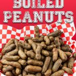 Slow Cooker Boiled Peanuts - A slow cooker makes boiled peanuts super easy to make!  A warm, salty, tender boiled peanut is the perfect snack for any occasion! #summer #party #recipe #slowcooker
