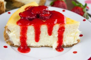 Smooth and Creamy Cheesecake - Rich, smooth, creamy, and absolutely sublime! Everyone needs a basic cheesecake recipe and this one is sure to please.