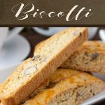 Almond Biscotti - Wonderfully crispy, crunchy, and loaded with almonds! A perfect treat for morning or afternoon coffee or tea. #cookies #dessert #sweet #recipe