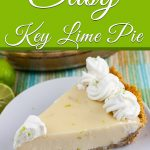 Easy Key Lime Pie - Perfect treat for spring and summer. Cool, creamy, refreshing, not too tart and not too sweet!#dessert #summer #sweet #recipe