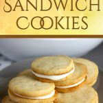 Lemon Sandwich Cookies - Tender, crunchy lemon shortbread cookies sandwiched with a zingy sweet lemon filling. Lemon lovers look no further!