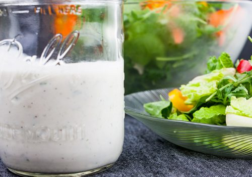 Southern Buttermilk Dressing - So simple to make you will never purchase store-bought again!A creamy, tangy buttermilk dressing flavored with fresh herbs that's great on salads, pasta or a vegetable dip.