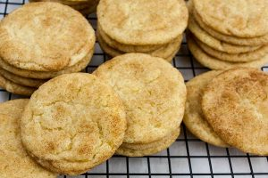 The Best Chewy Snickerdoodle Cookies - Slightly crisp edges, cinnamon sugar crackle top with a soft chewy center. That's the classic Snickerdoodle cookie in a nutshell.