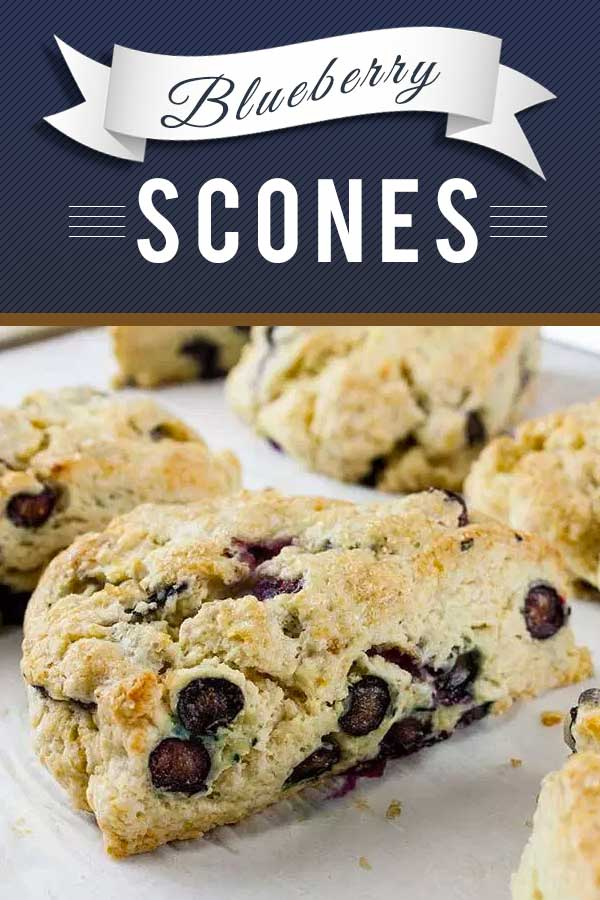 Blueberry Scones - Light, tender, slightly sweet and tangy! This blueberry scone recipe rivals any bakery scone you've ever eaten. Buttery rich and popping with sweet and tangy blueberries! #recipe #breakfast #sweet #dessert