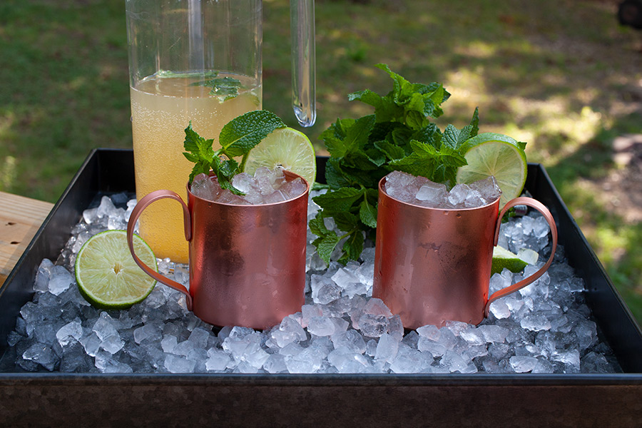 Skinny Moscow Mule - Sugar free cocktail! Yes, no added sweeteners at all. Crisp, light, and totally refreshing. It's five o'clock somewhere, right?