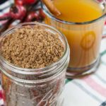 Apple Cider Spice Mix - Add this wonderful mulling mix recipe of tangerine infused brown sugar and spices to apple cider, wine, coffee, or tea for a delicious hot winter beverage. A perfect way to make those winter weather days warm and cozy.