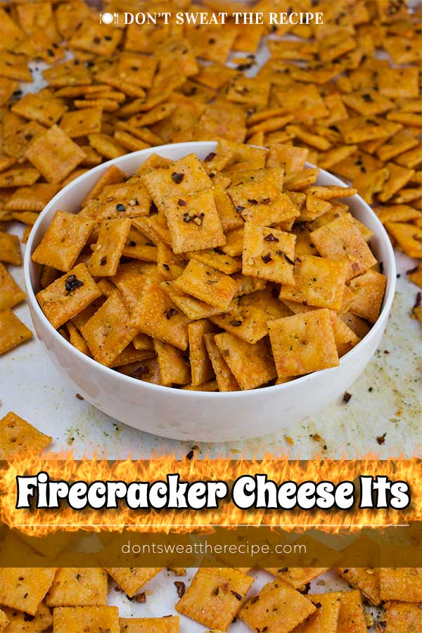 Firecracker Cheez-Itz - Need an easy snack or appetizer? This recipe comes together in a snap and is so addictive! Ranchy, spicy, cheesy crackers for the win! #appetizer #recipe #party #gameday #snack