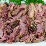 Slow Cooker Corned Beef - This recipe for slow cooker corned beef delivers a moist, tender, flavor-packed piece of beef. So easy you just dump, set, and cook!