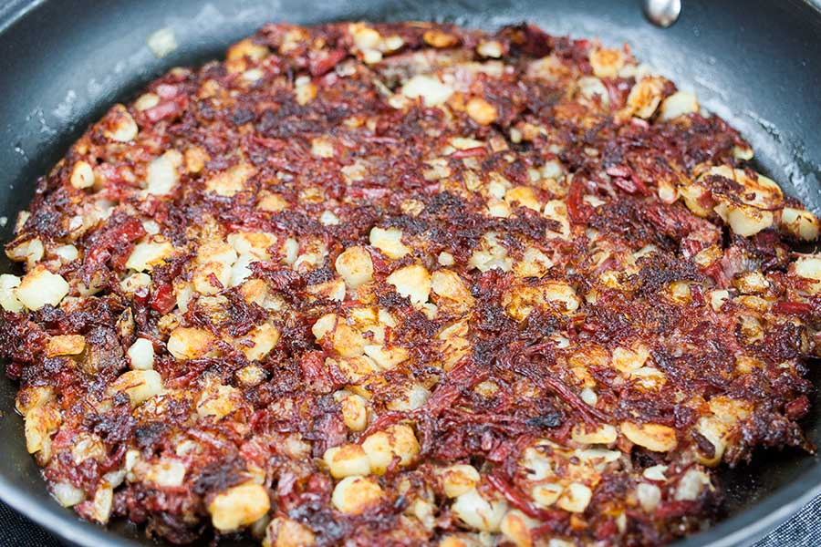 Corned Beef Hash - A perfect way to use leftover corned beef while serving up a deliciously crispy and flavorful meal packed full of flavor and texture.