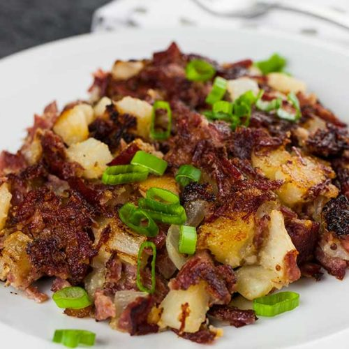 Corned Beef Hash Homemade Don T Sweat The Recipe