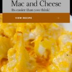 An easy low carb, keto, alternative. It's baked creamy, cheesy, cauliflower mac and cheese decadence! You don't need the pasta! #keto #lowcarb