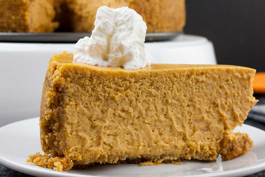 Easy Pumpkin Cheesecake Don T Sweat The Recipe