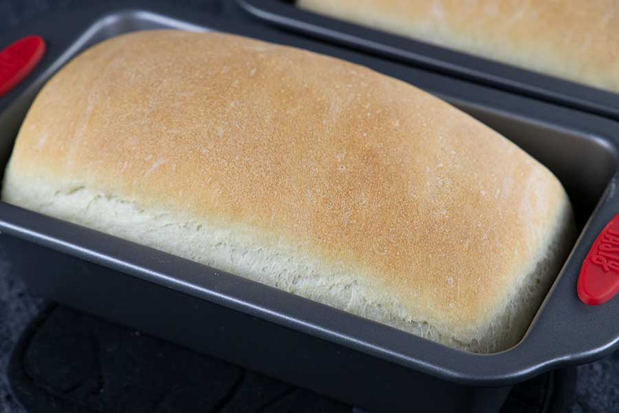Fresh baked bread.