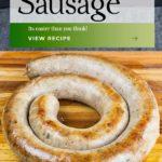 Italian Sausage Recipe card