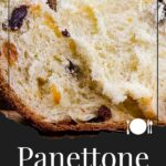 panettone close up