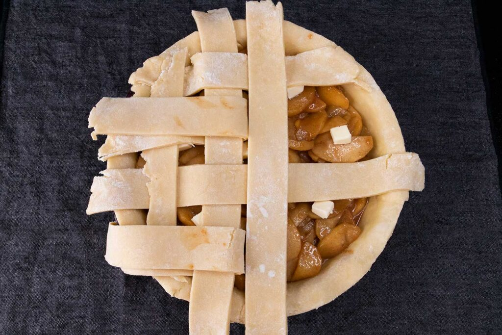 lattice pie dough