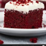 Red Velvet Brownies are a much simpler method for that classic red velvet taste. Decadent, moist, chewy brownies with a deep red color topped with smooth cream cheese frosting!